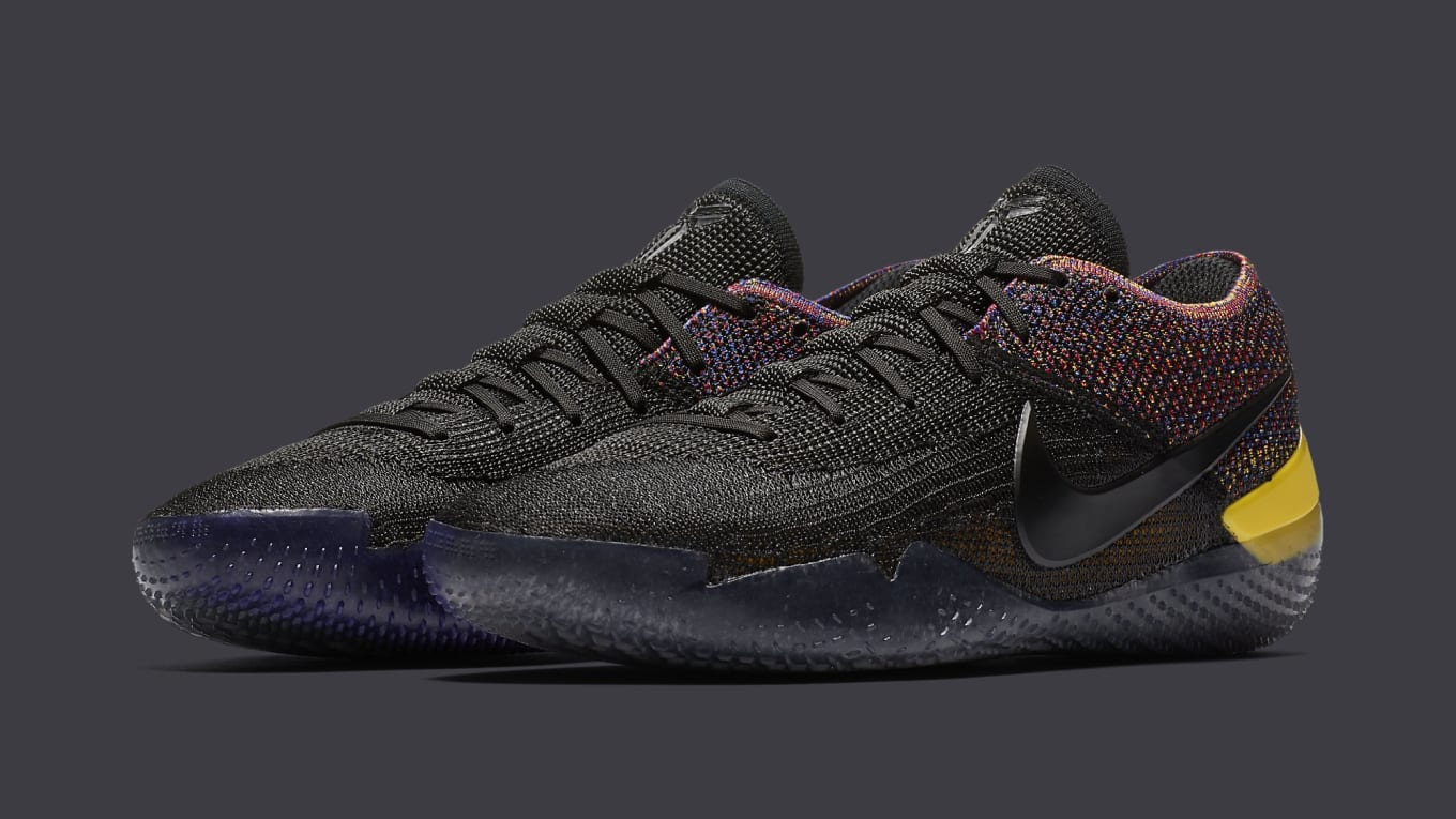 ea453dd22926 Nike Kobe A.D. NXT 360 Releasing in  Black Multicolor . The multicolor  options keep coming.