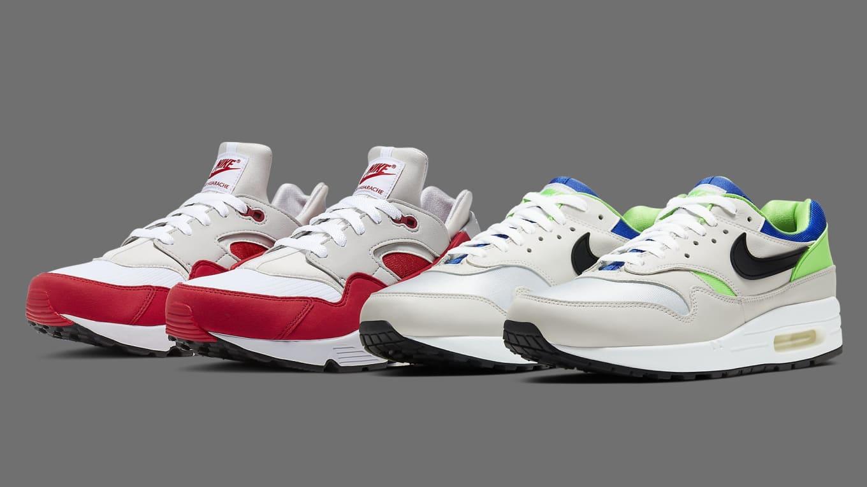 Nike Air Max 1 and Air Huarache 'DNA Series' Pack Release