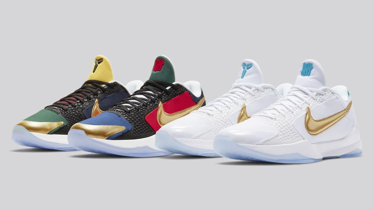 Nike Teases Undefeated x Kobe 5 Restock