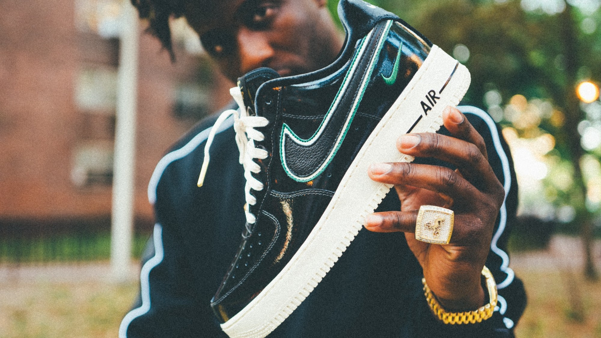 various colors d5b39 45eed Nigel Sylvester x Nike Air Force 1 iD Release Date   Sole Collector