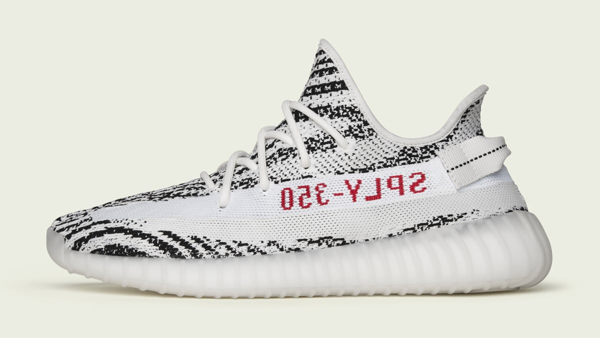 c62e953bc0f60 Adidas Yeezy Boost 350 V2  Zebra  and  Semi Frozen Yellow  2018 Restock
