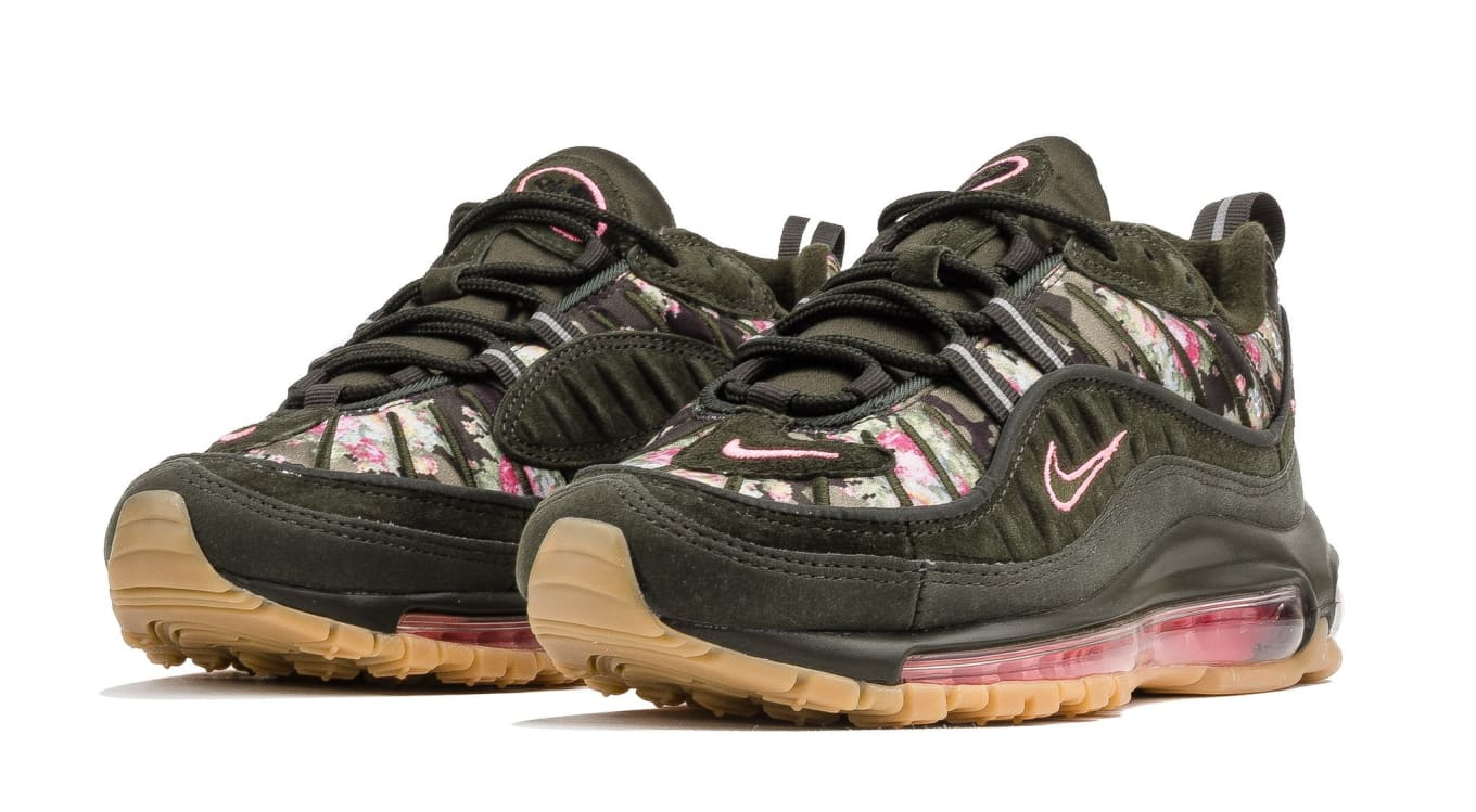 super popular 59931 4574b Nike Covers the Air Max 98 in Flowers. The latest womens exclusive  colorway.