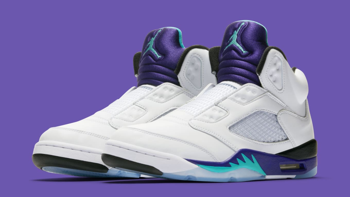 2ff3dd96fb1 Air Jordan 5 Retro NRG 'Fresh Prince' AV3919-135 Release Date | Sole ...