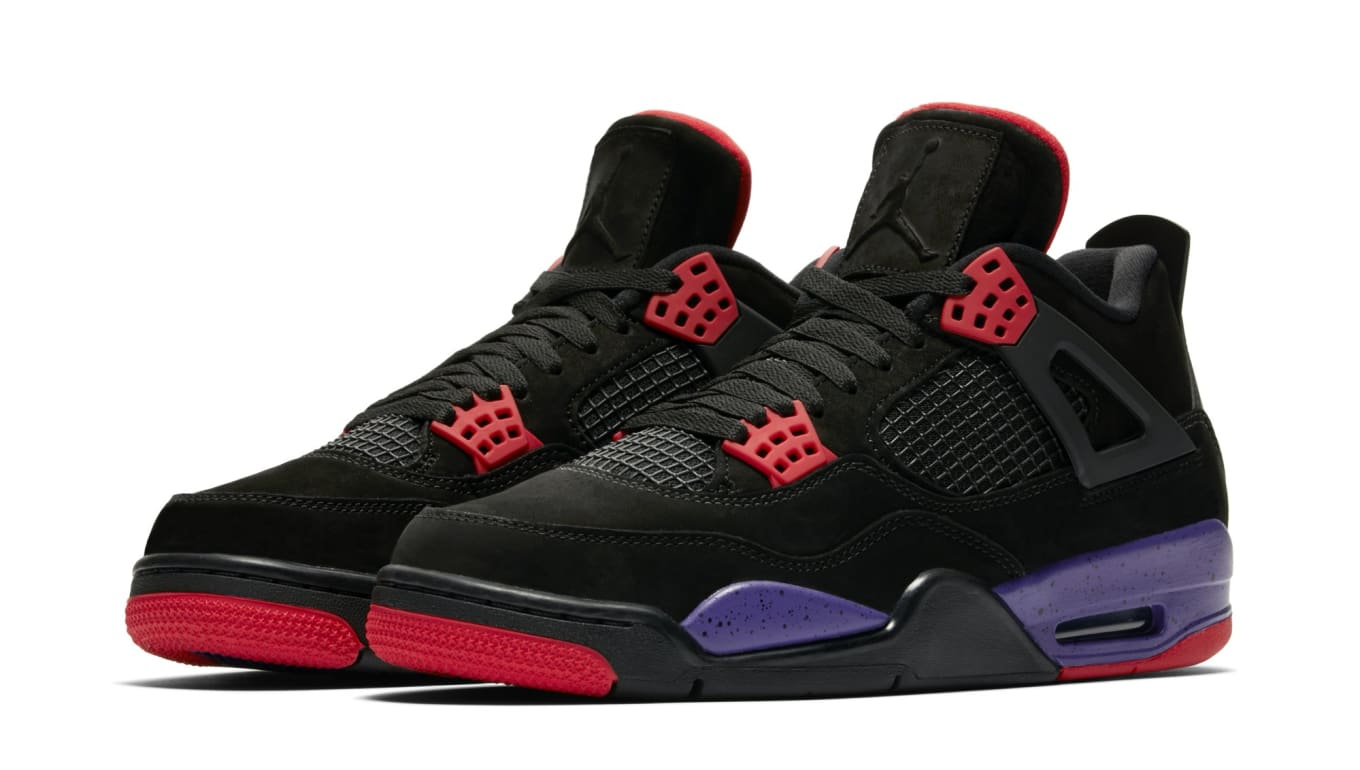 14eee99353b1 Air Jordan 4 Retro NRG  Black University Red Court Purple   AQ3816 ...