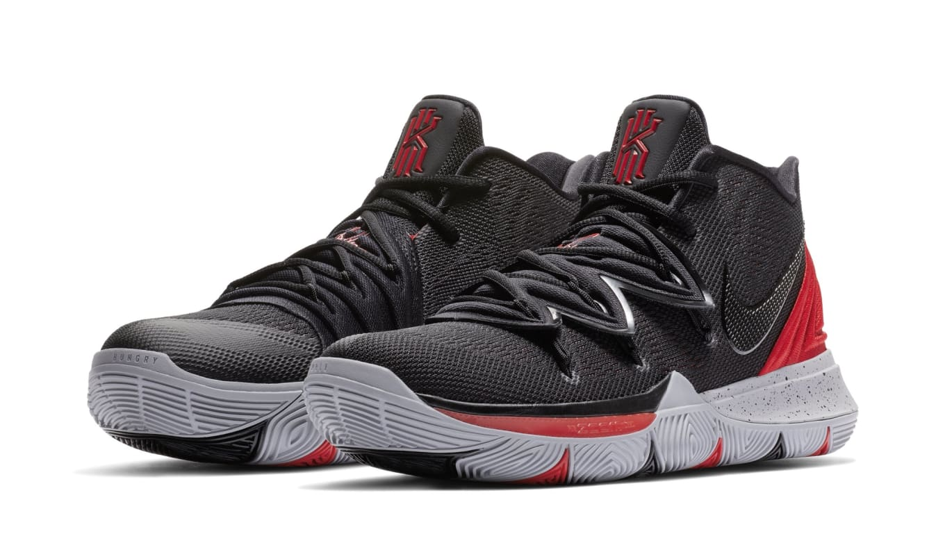 8d7e3344fe01 Nike Kyrie 5  University Red Black  AO2919-600 Release Date