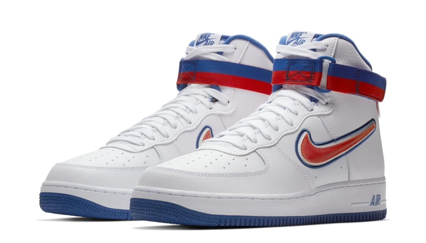 7f0300233a2 Nike Air Force 1 High Sport  Knicks  AV3938-100 Release Date