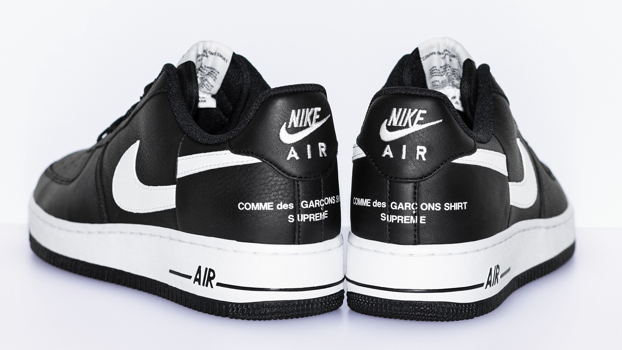 sale retailer dbe87 c6861 Supreme x Comme Des Garcons x Nike Air Force 1 Fall/Winter 2018 | Sole  Collector