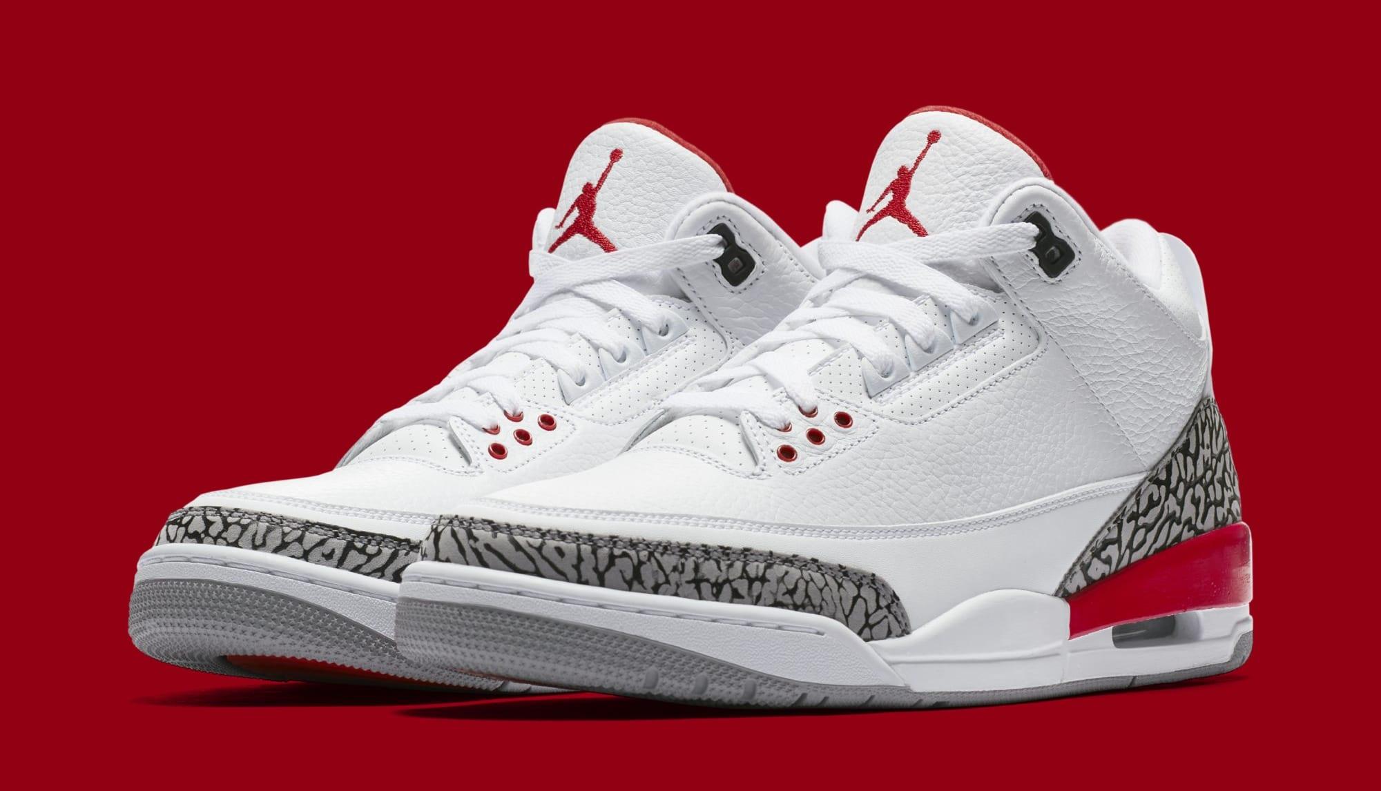 Womens Air Jordan III 3 White/Pink-GreyShoes_a3148
