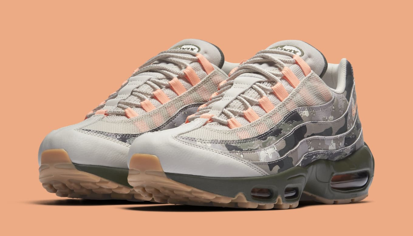 799bd4b21f Nike Air Max 95 Essential 'Sand/Sunset Tint/Black' AQ6303-001 ...
