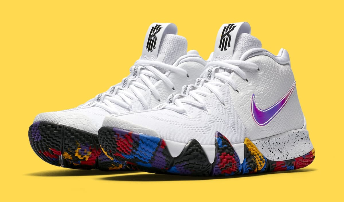 Nike Kyrie 4 March Madness 943804 104 Release Date