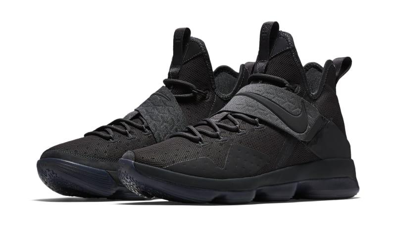 LeBron James\u0027 Social Media Blackout Inspires New Sneakers. \u0027Blackout\u0027 Nike  LeBron 14 releases in May.