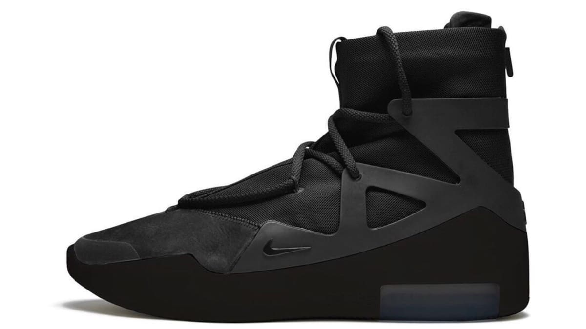 'Triple Black' Nike Air Fear of God Set for Valentine's Day Release