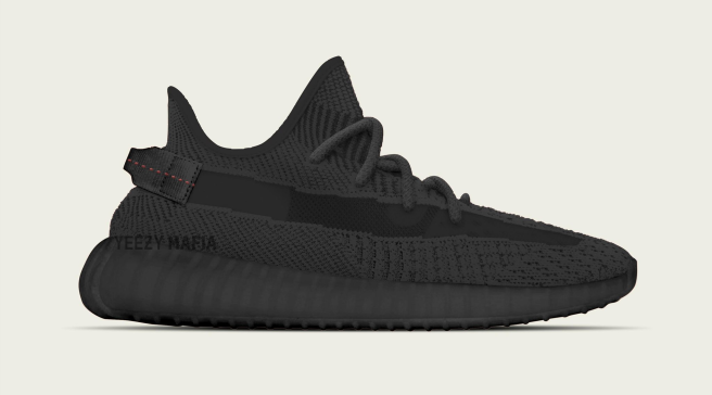 08a5308aa6639 New Release Info for the  Black  Adidas Yeezy Boost 350 V2