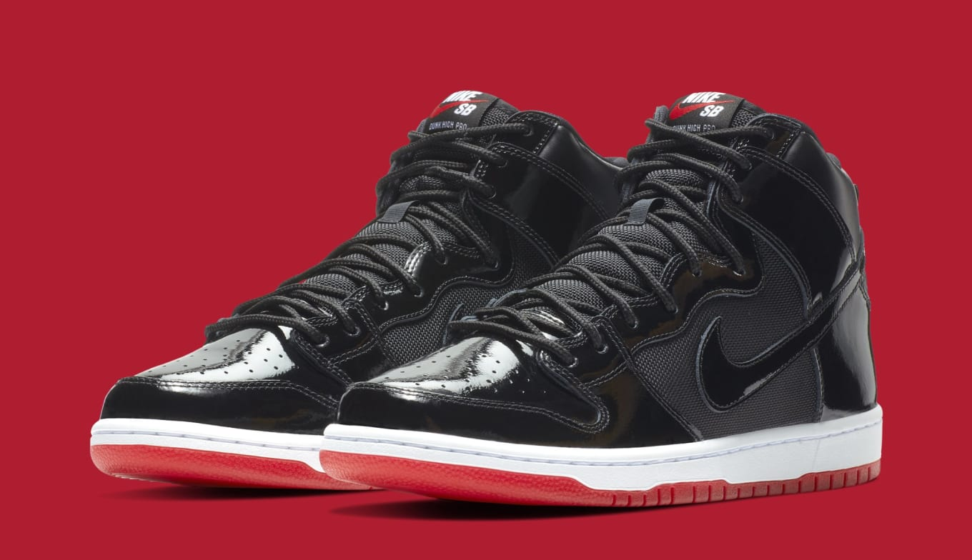 the latest 4db98 a5d46 Nike SB Dunk High  Bred  AJ7730-001 Release Date   Sole Collector