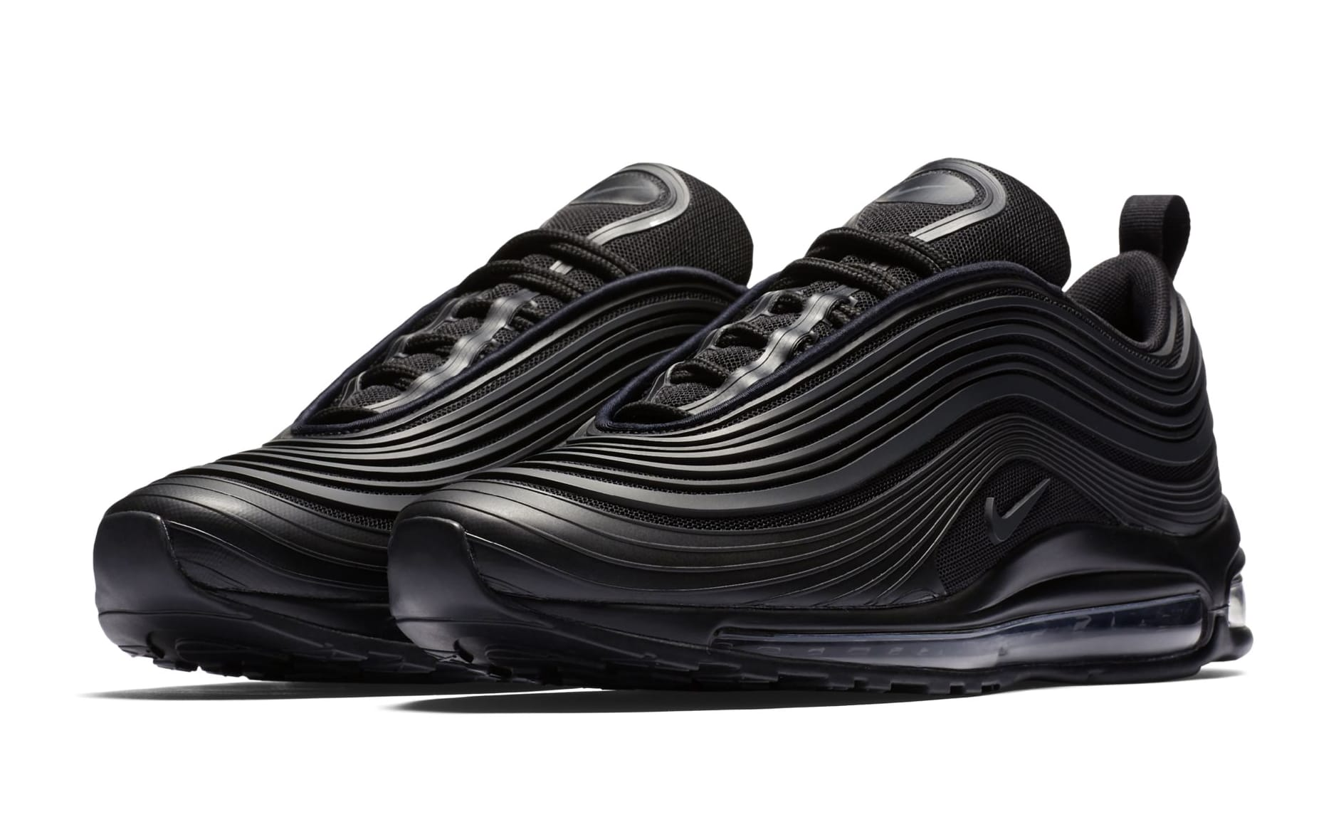 NIKE AIR MAX 97 ULTRA PREMIUM TRIPLE BLACKRED NIKE AIR MAX 97 ULTRA 17 PREMIUM