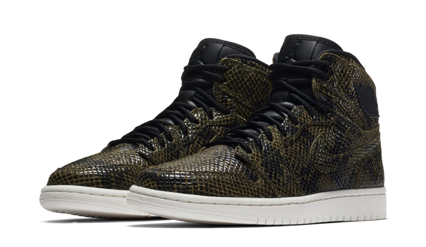 purchase cheap c6f47 d7d8b Air Jordan 1s Get Covered in Snakeskin