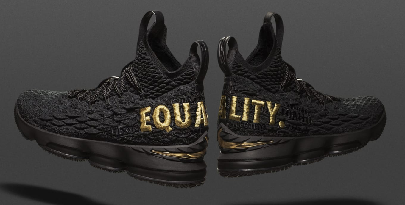 low priced 87137 00ac0 Nike LeBron 15 'Equality' PE Drawing | Sole Collector
