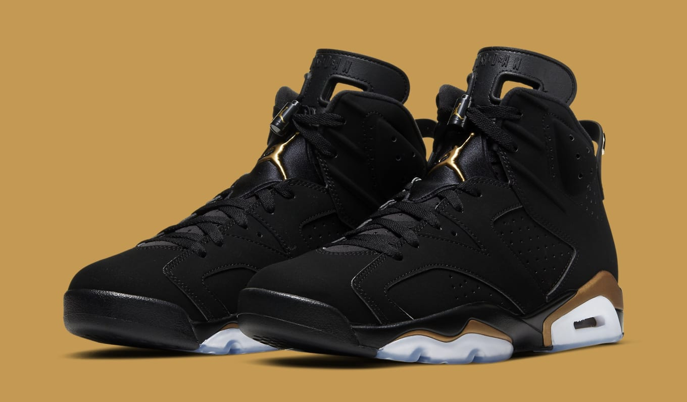 air jordan 6 retro noir rose