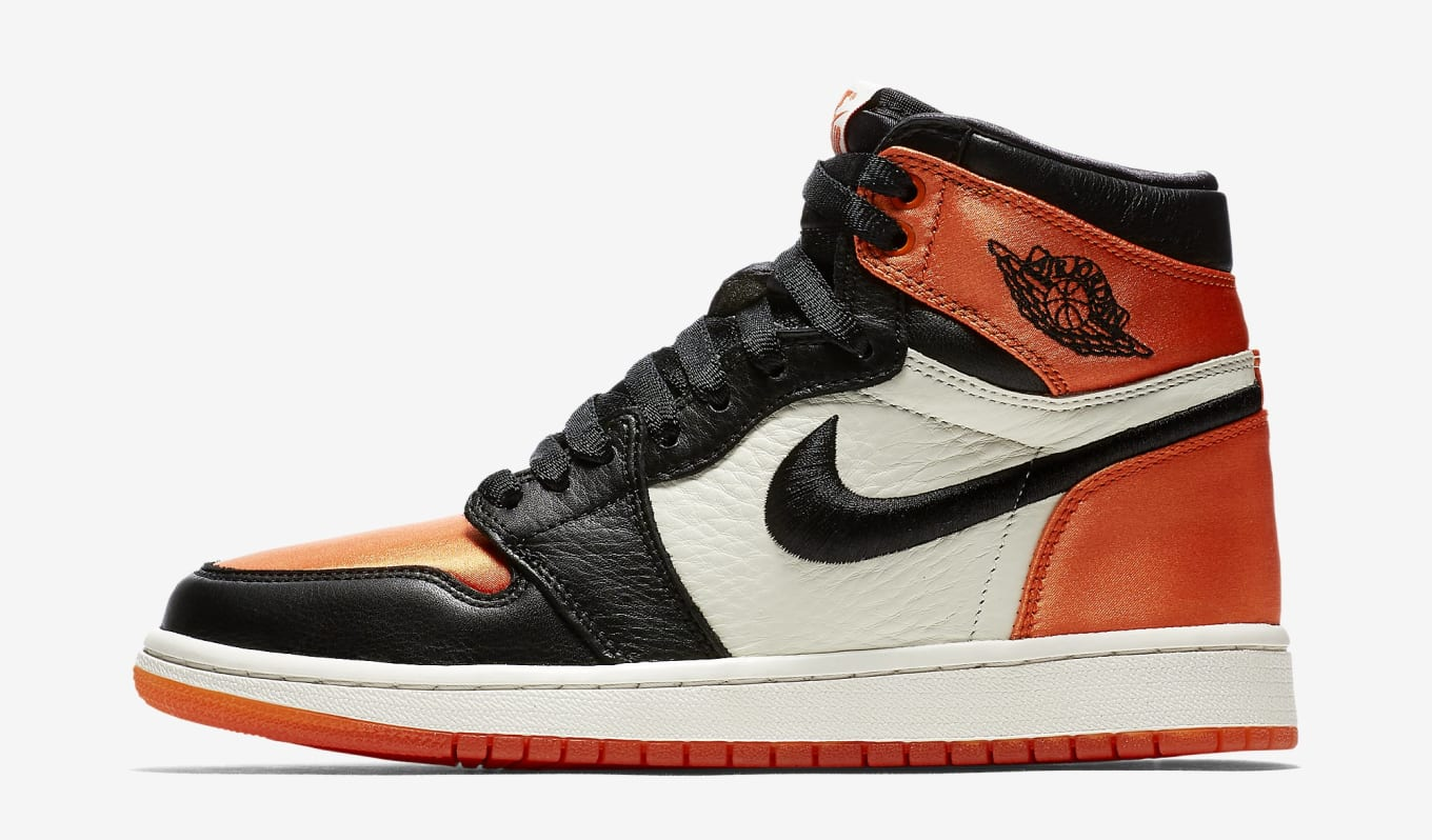 9a9cc8e4c2e4 Air Jordan 1 Retro Satin  Shattered Backboard  WMNS SNKRS Early ...