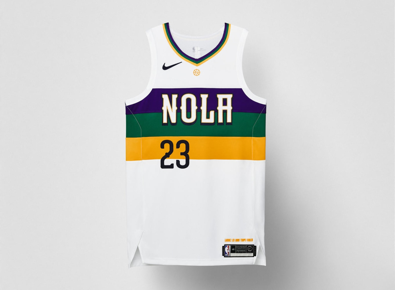 5ae36e696ce8 Nike 2018-19 NBA City Edition Jerseys