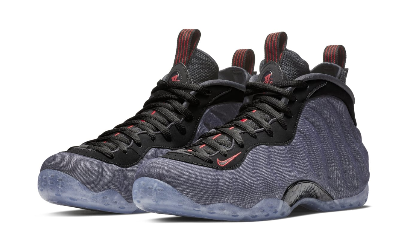 5c39ead69fc467 Nike Air Foamposite One Denim Release Date 314996-404
