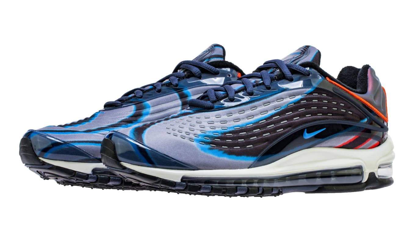 nike air max deluxe blue black