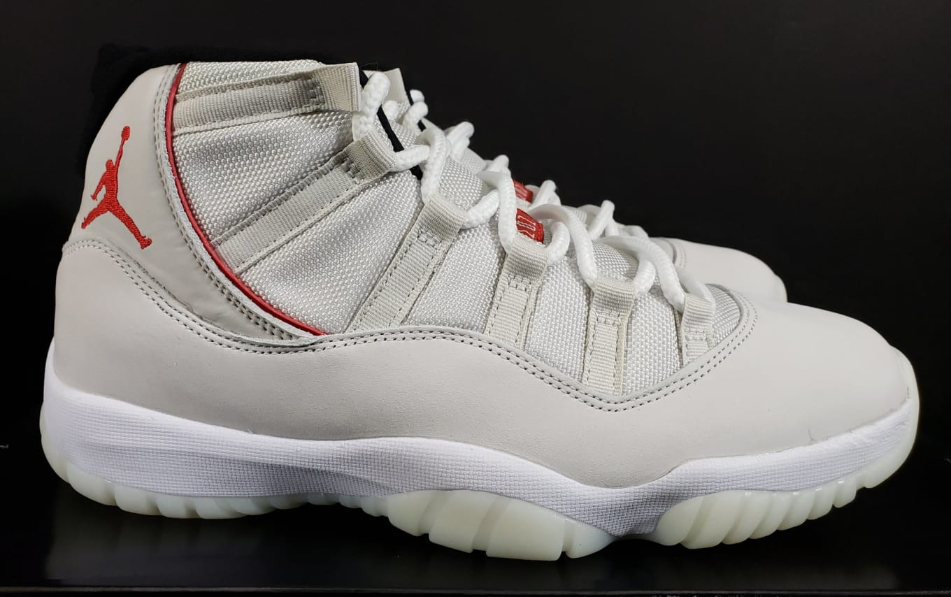 more photos c14fa 08811 Air Jordan 11 Retro  Platinum Tint