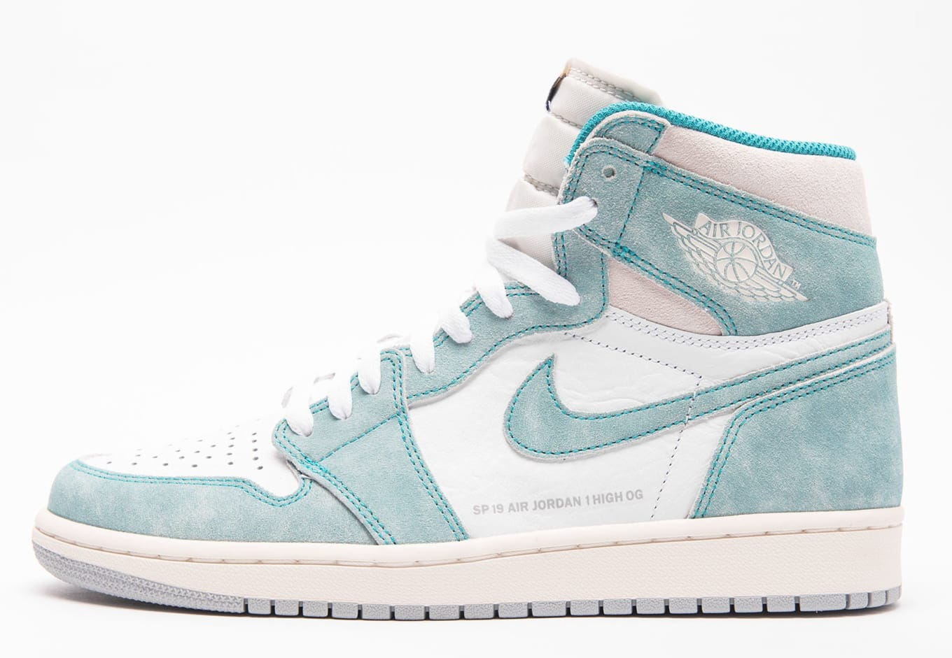 ea6dda09e73fe3 These Vintage-Inspired Air Jordan 1s Drop Next Month. Best look yet at the   Turbo Green  colorway.