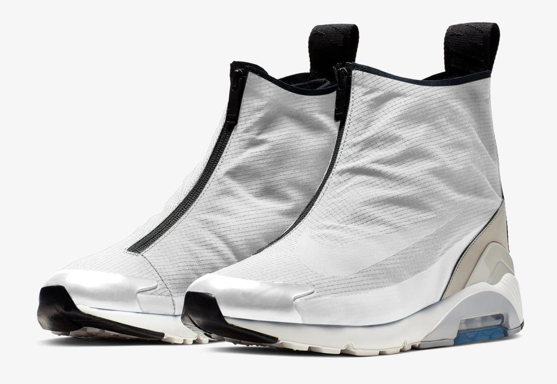 new product 9b015 2985f Ambush x Nike Air Max 180 Hi  White White-Pale Grey-Light Bone ...