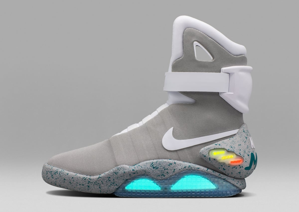 Back To The Future Nike Air Mag Shoes