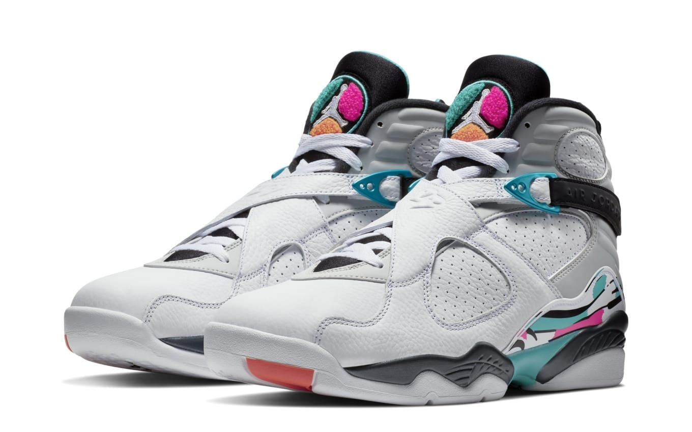 new style 54dd6 fa6b0 Air Jordan 8 VIII South Beach Release Date 305381-113 | Sole ...