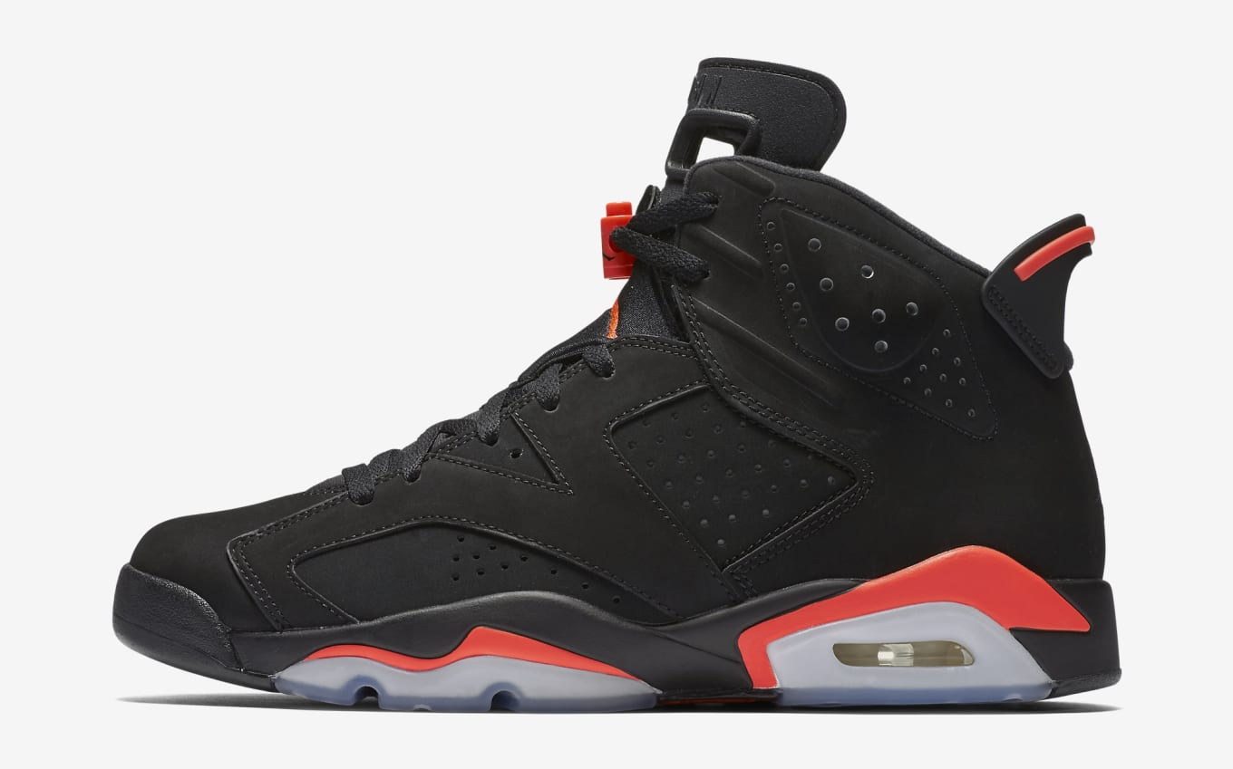 c3abb193573e76 Air Jordan 6  Black Infrared