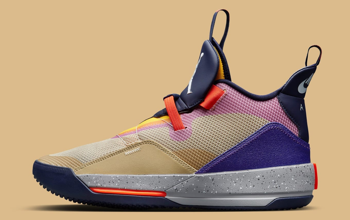 Air Jordan 33 Visible Utility Release Date AQ8830 200 | Sole