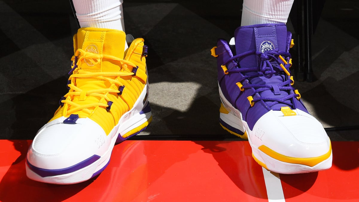 Nike Zoom LeBron 3 Lakers | Sole Collector