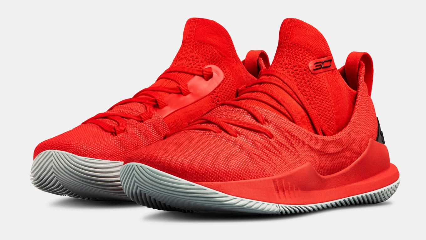 official photos fea39 2f418 UA Curry 5 'Fired Up' Release Date June 8, 2018 | Sole Collector