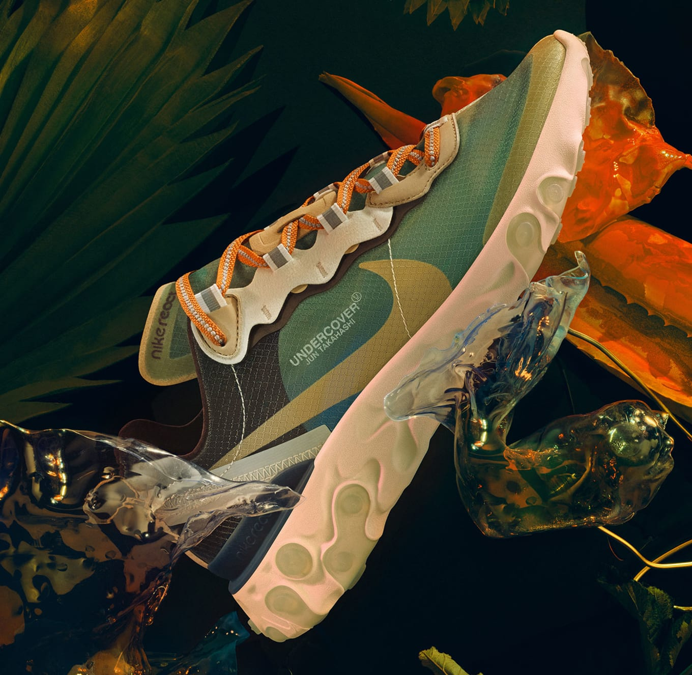 promo code 3922f fb30f Where to Buy Undercover s Nike React Element 87 Collab