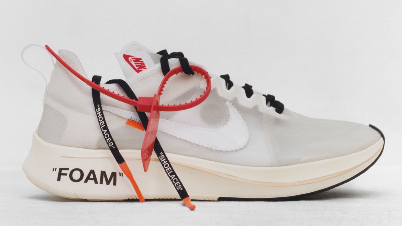 950332597fa9 Get Ready for the Brightest Off-White x Nike Yet.  Tulip Pink Racer Pink   colorway rumored for later this year.