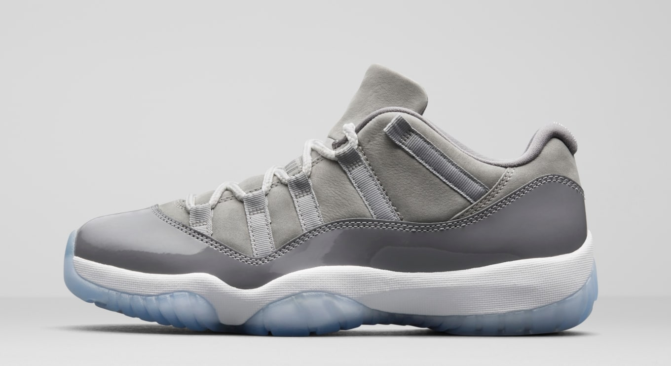 new arrival c4242 9902f  Cool Grey  Air Jordan 11 Lows Drop This Month. An official look at the  upcoming retro.