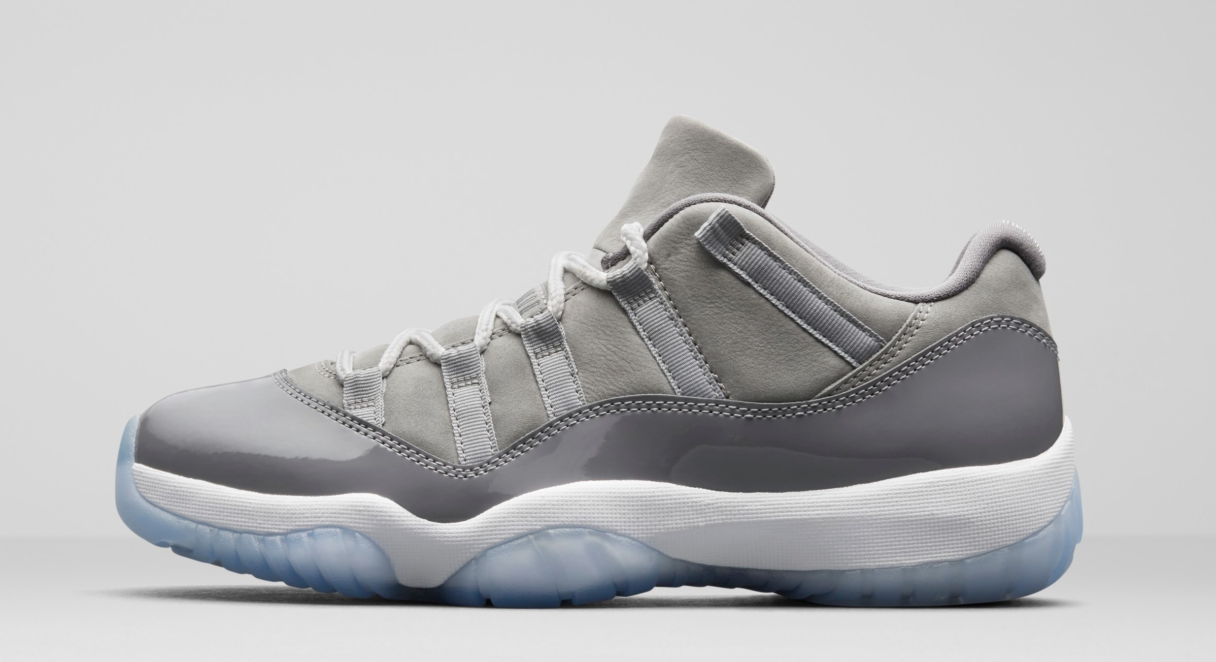 Womens Air Jordan 11 Cool Grey-White-Medium GreyShoes_a3067
