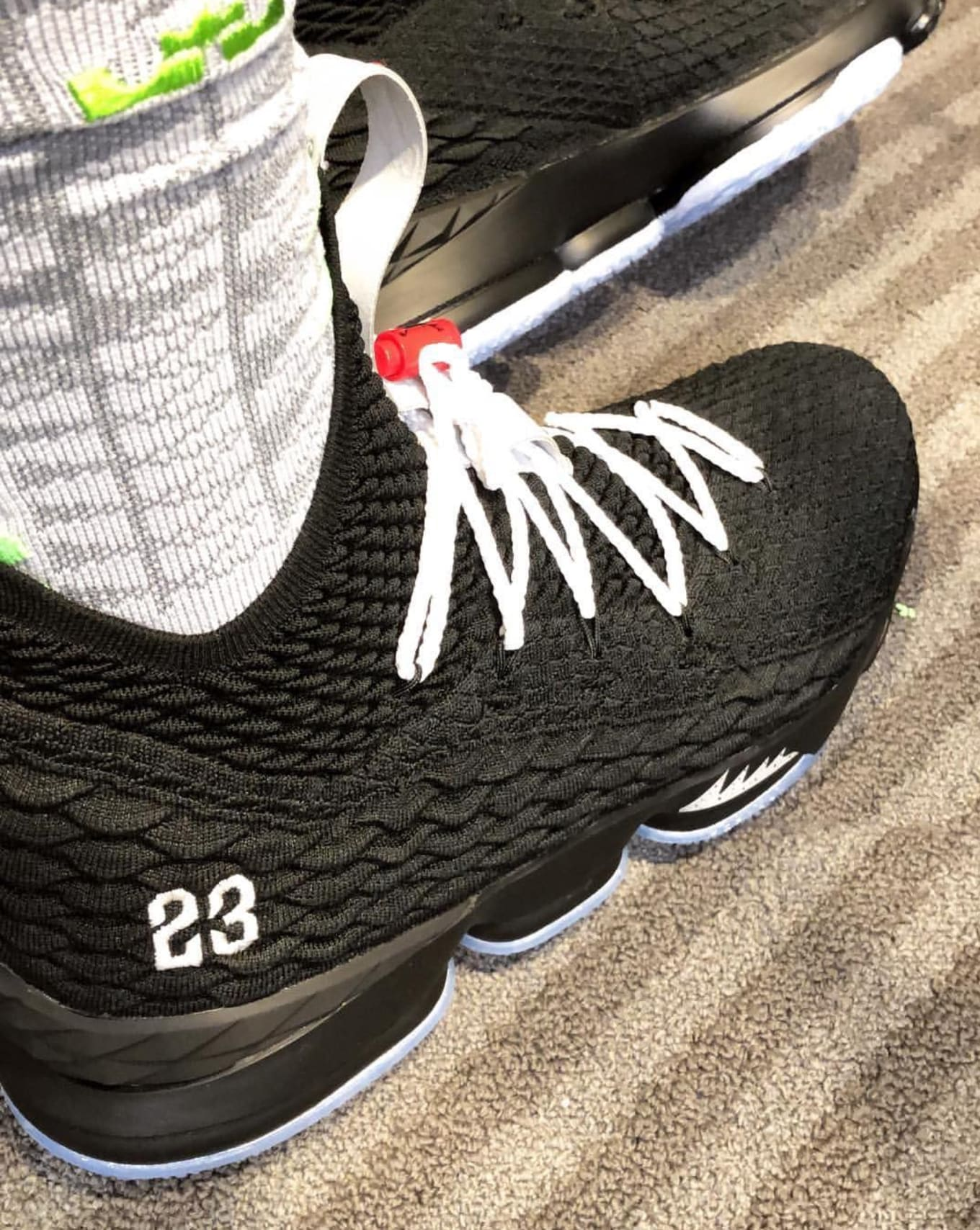 LeBron James Pays Tribute to Michael Jordan with Special Sneakers d1b9edfe9b3c