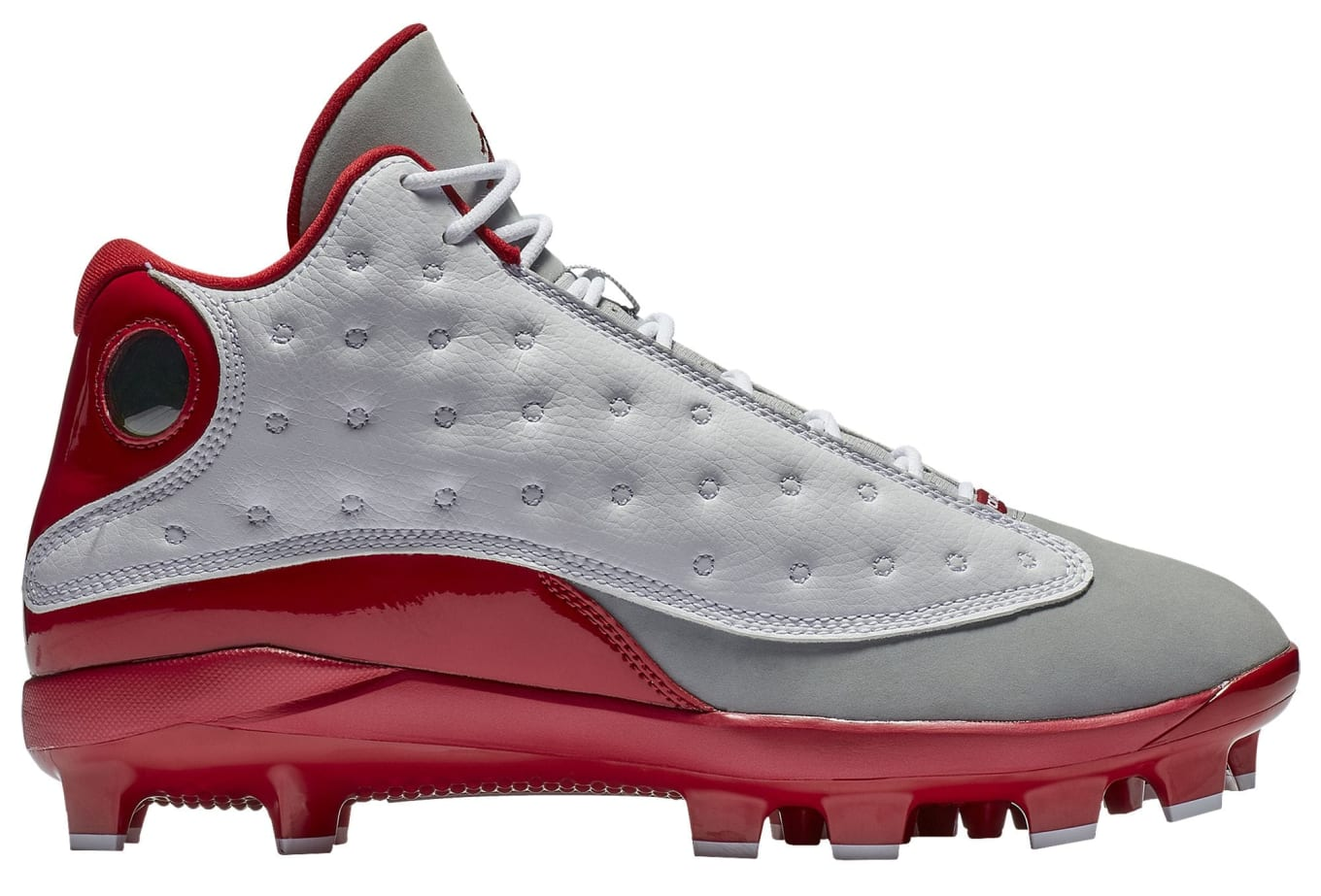 203ad9e9b54  Grey Toe  Air Jordan 13 Baseball Cleats Are Available Now
