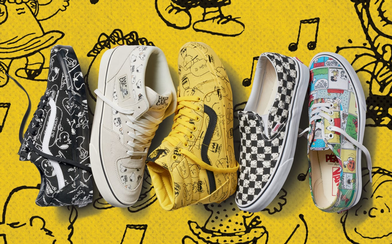 ef477a0a25 Vans x Peanuts Collection Release Date