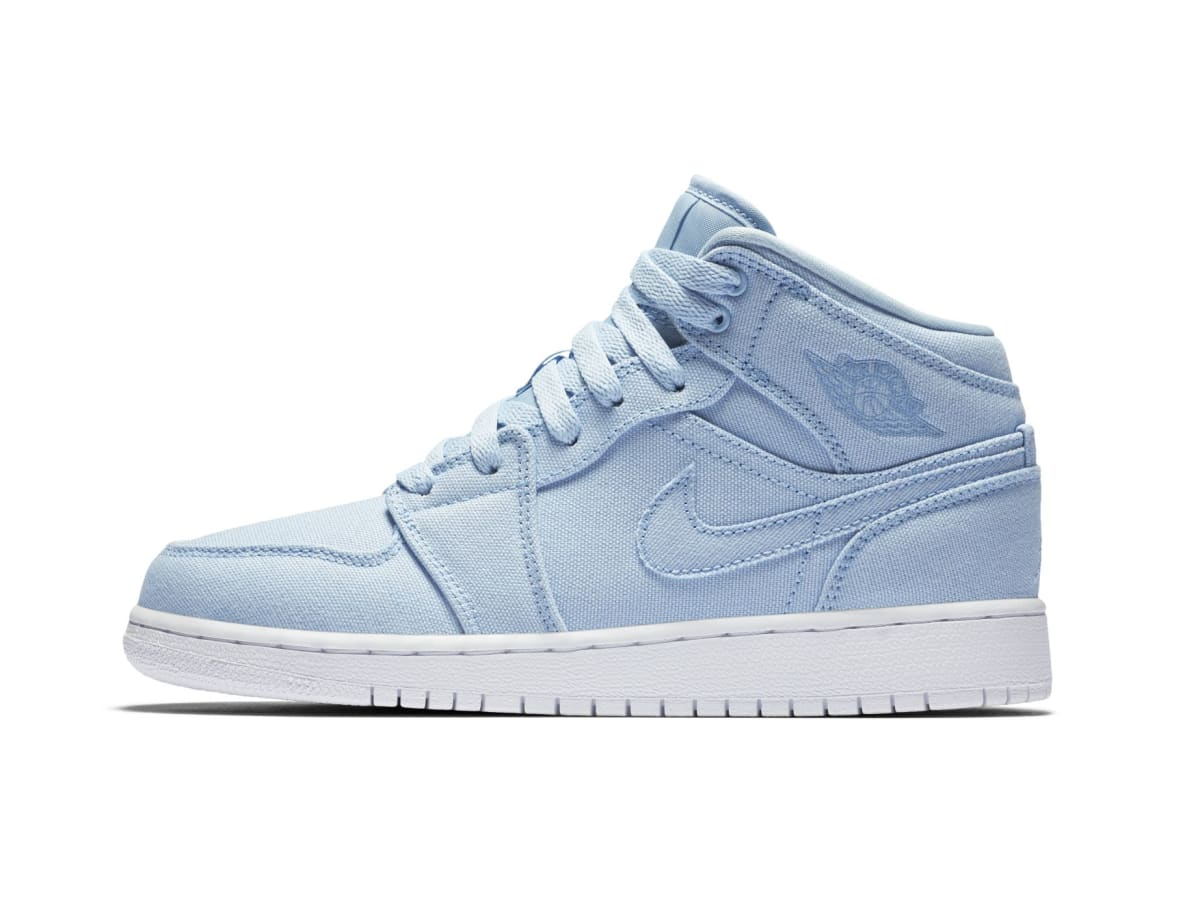 Canvas Air Jordan 1s For Kids Sole Collector