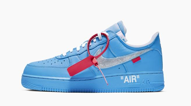 61e1585efe Virgil Abloh's New Air Force 1s Aren't Releasing at MCA Opening