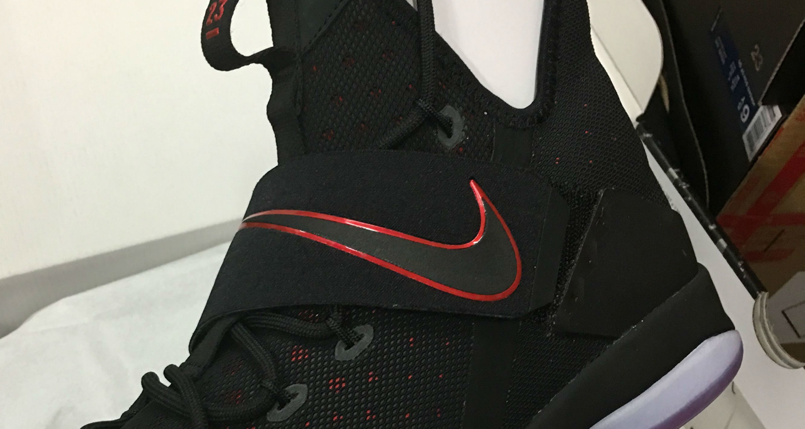 new product 101c1 c9ef6 Nike LeBron 14 Black/Red Release Date 852405-004 | Sole ...