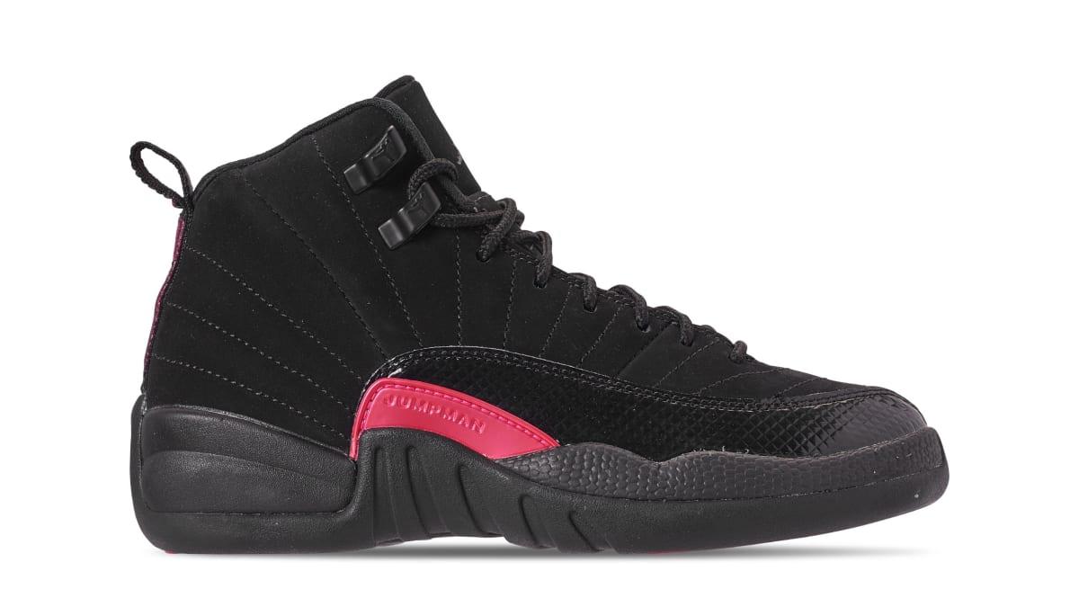 c111800b7a93 ... cheapest air jordan 12 retro gg black dark grey rush pink 510815 006  release date sole