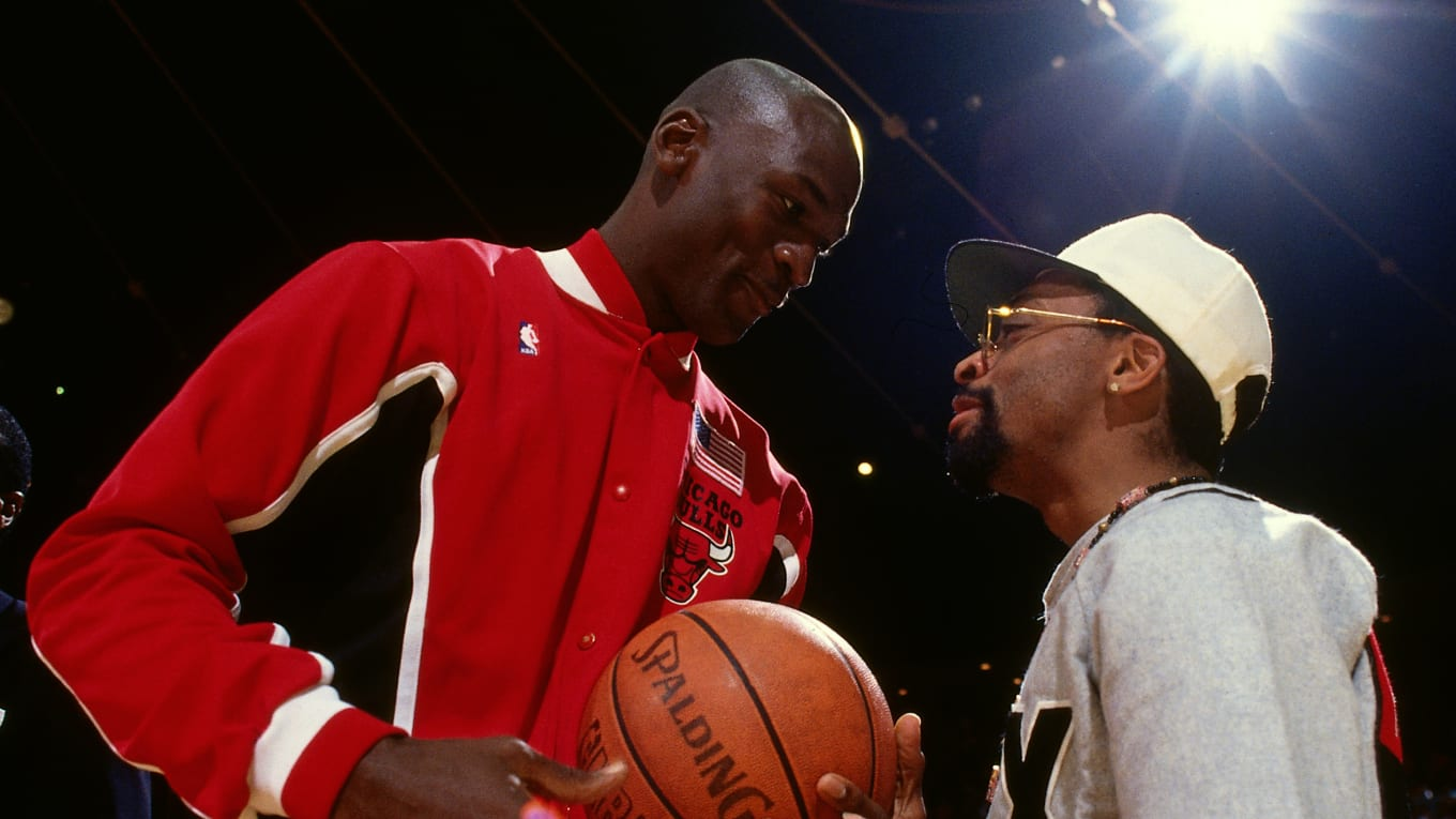 5def7d40324a Spike Lee explains how Phil Knight put the young star in the spotlight  despite detractors.