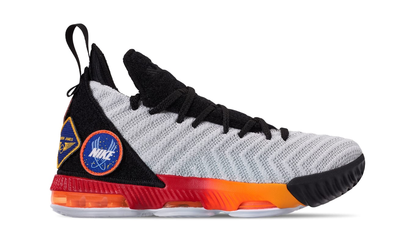 8e48578d2fb12 Nike LeBron 16 Boys  White Laser Orange  AQ2465-188 Release Date ...