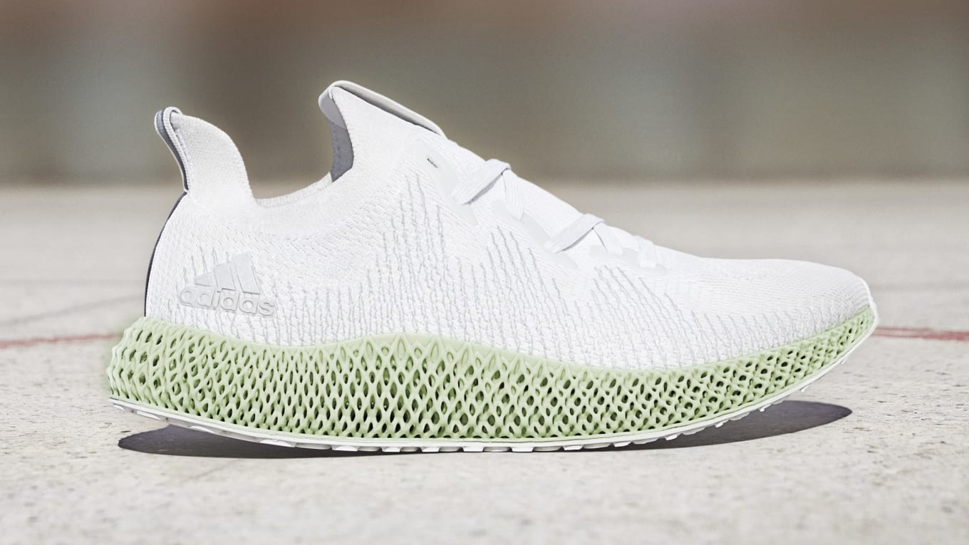 Alpha-Edge 4D Futurecraft Adidas Men's Size 11.5 White New w/ Tags Laufschuhe Herren Fitness- & Laufschuhe
