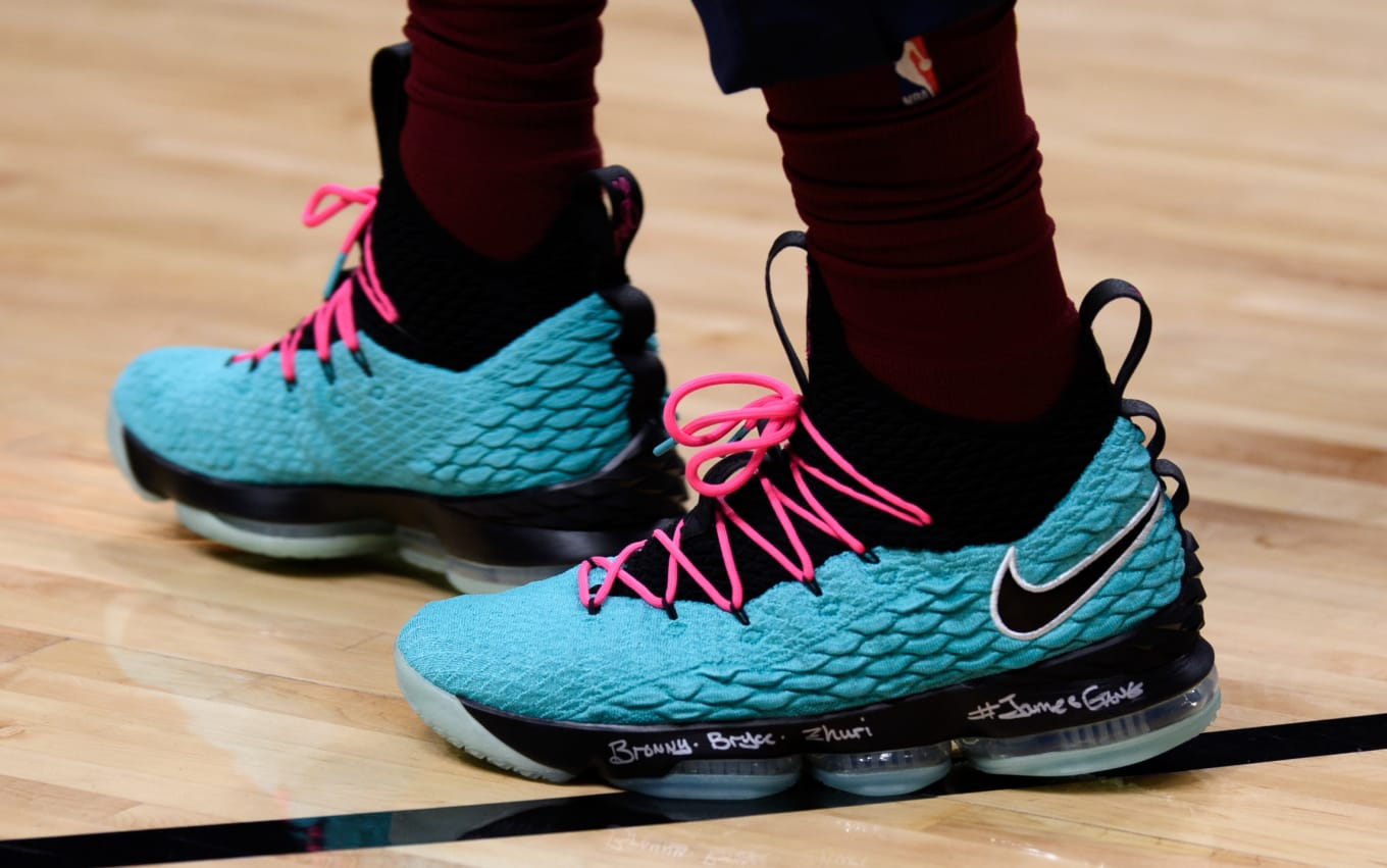 bfee31e5a7ed57 Nike LeBron 15  South Beach   LeBronWatch